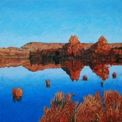 Fall Reflections, South Boundary Lake