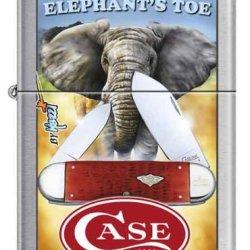Case Mazzi Elephant'S Toe Collector Zippo New