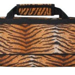 Messermeister 8-Pocket Padded Knife Roll, Tiger Stripe