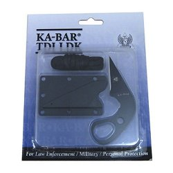 Last Ditch Tdi Ankle Knife, Plain, Plastic Sheath, Clam