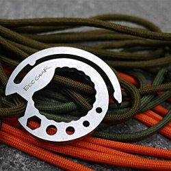 Verany Number.7 Outdoor Survival Multifunction Key Chain Tool