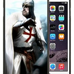 Diy Assassins Creed Desmond Miles Guard Helmets Knife Fist Attack Iphone 6 Plus 5.5 Inch Black Phone Case