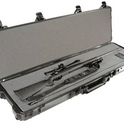 Pelican Products 1750 Gun Case With Foam For Rifle, Black