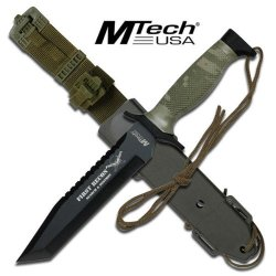 New M Tech Military Combat Knife Mt676Tc