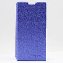 Doogee Dg550 Flip Leather Case Super-Thin Slim Stand Cover High Quality Pu Pouch For Doogee Dagger Dg550 Mtk6592 (Blue)
