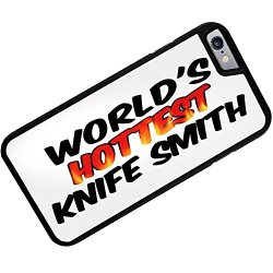 Rubber Case For Iphone 6 Worlds Hottest Knife Smith - Neonblond