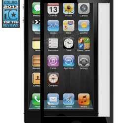 Holy Grail Glass Screen Protector - Iphone 5 - Black