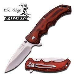 """Er-A004Sw Elk Ridge Ballistic 4.75 Inch Spring Assisted Slrabka8V Folder Knife 9Pi9Itrvn Brn Ajuiioptr 4567Fffg 567Ybghjk Elk Ridge Ballisticspring Assisted Knife4.75"""" Closed Length3.5"""" 3Cr13 Satin Finished Stainless Steel 3Cao4A3Ulm Blade3Mm Thick Ovymey"""