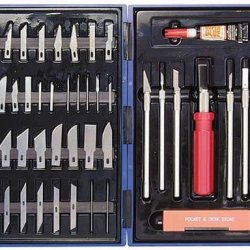 Hobby Knives Set With Case