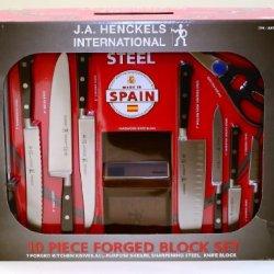 J.A. Henckels International 10 Piece Forged Block Set