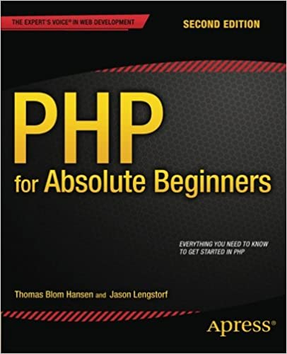 RE: Hi there ... Looking for a best ebook for PHP programming  learning