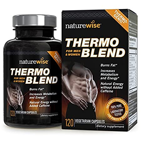 NatureWise Thermo Blend contains a blend of natural fat burners and antioxidants to increase metabolism and energy, promote fat burning, and support weight loss.* Our thermogenic formula includes Green Tea Extract, Bitter Orange, Hoodia Gordonii, Gua...