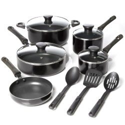 Oster 91420.12 Pierceton 12-Piece Cookware Set With 3-Piece Nylon Tools Set
