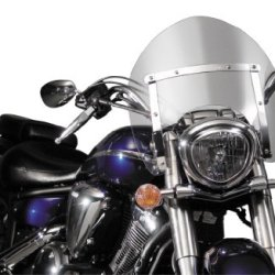 National Cycle Switchblade Shorty Windshield - Clear N21733