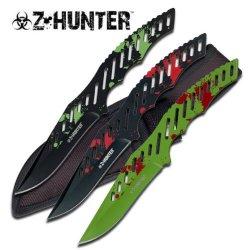 "Z-Hunter 3 Piece 9"" Throwing Knife Knives Set"
