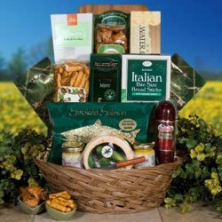 Life'S Finer Things - Fine Cheese And Meat Gift Assortment - Something For Everyone!