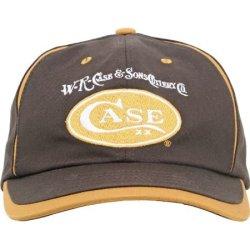 Case Knives 50123 Canvas Ball Cap With Brown & Gold Construction & Case Xx Logo