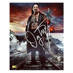 Danny Trejo Autographed 8X10 Do Not Cross Photo
