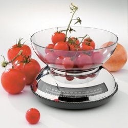 Arcosteel Duo Styli 1856 Stainless Steel Analog Kitchen Scale