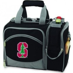 Stanford Cardinal Malibu Insulated Picnic Shoulder Pack/Bag - Burgundy W/Embroidery