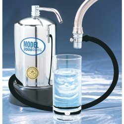 Exclusive Counter Top Incomparable Water Filters Model 2000 Water Filter Standout
