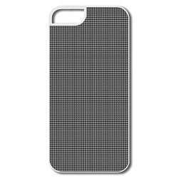 Black Grid Pattern Pc Best Case Cover For Iphone 5/5S