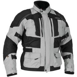 Firstgear Kathmandu Jacket - Medium/Black/Grey
