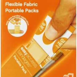 Easy Care Easy Access Fabric Bandage, 1X3, 30 Count
