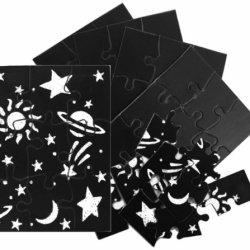 Inovart Skratch N' Sketch Scratchboard Puzzles