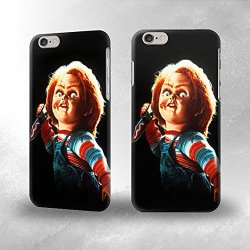 "Apple Iphone 6 Plus 5.5"" Case - The Best 3D Full Wrap Iphone Case - Chucky With Knife"