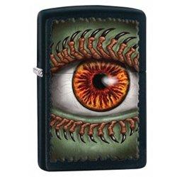 Zippo Eye Lighter, Black Matte