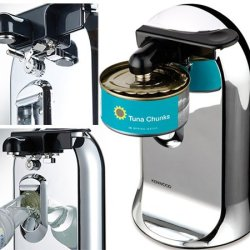 220-240 Volt/ 50-60 Hz, Kenwood Co606 3 In 1 Tabletop Can Opener, Overseas Use Only, Will Not Work In The Us