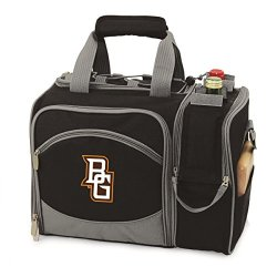 Bowling Green Falcons Malibu Insulated Picnic Shoulder Pack/Bag - Hunter Green W/Embroidery