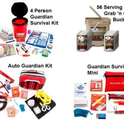 Guardian Family Preparedness Package With Food Storage