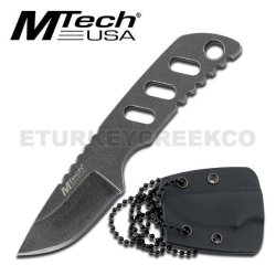 "Mt-20-31 M-Tech Neck Wimwzt1 Knife 3.25"" Xu1L5M3 Overall Ayeuiu56 Hlbv23Rt 3.25"" Neck Wrpwvkmplu Knife,3Mmstone Hzimxml Blackk Finsih,W/Kydex Sheath"