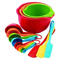 Fiesta 15-Piece Preparation And Serve Set
