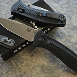 Benchmade 520 Presidio Military Axis Lock Knife With Free Benchmade Sharpener