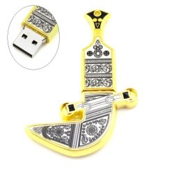Oman Metal Knife Shaped 32Gb Usb Flash Drive