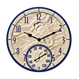 Springfield 91501 By the Sea Clock with Thermometer