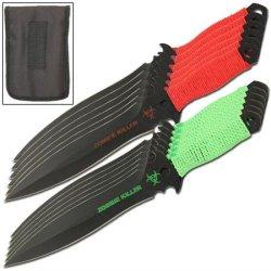 Zombie Killer Vigilant 12 Piece Throwing Knives