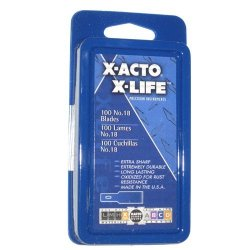 X-Acto X618 Wood Chisel Blade Pkg/100