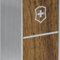 Swiss Army Knives 9510002 Medium Display Cube With Wood & Matte Finish Stainless Construction & White Plastic Top