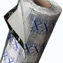 Fatmat 50 Sq Ft X 80 Mil Thick Self-Adhesive Rattletrap Sound Deadener Bulk Pack W/Install Kit