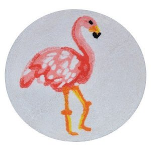 New-Flamingo-Bath-Rug-Multicolored