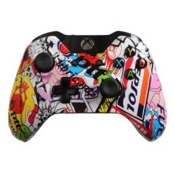 Special Edition Sticker Bomb Custom Xbox One Controller