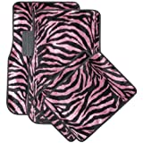 Get 72% OFF OxGord Front & Back Seat Zebra/Tiger Carpet Mats