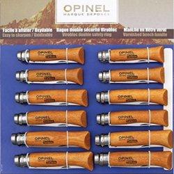 Opinel Twelve Piece Knife Assortment 182085