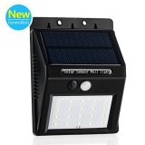 20Led-Dim-Mode-Push-Button-Switch-Solar-Powered-Security-Motion-Sensor-Lights-Wireless-Waterproof-Outdoor-Lights-for-Deck-Pathway-DrivewayGarden-with-2200-mAh-Rechargeable-Lithium-Battery