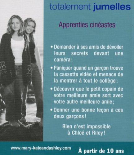 Totalement jumelles, Tome 15 : Apprenties cinéastes