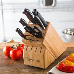 Wusthof Wusthof Classic 7 Piece Kitchen Knife Block Set, Wood